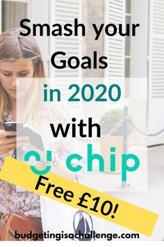 AD: Start 2020 successfully by getting a FREE £10 with Chip app!  Stash your cash without resorting to manual methods, using AI.  Are you not a manual budgeter? Does it bore you thinking about writing down your goals for setting money aside? Read about Chip app, that will set aside cash for you without the stress and time!  #chipapp #ad #getchip #savingsgoals #personalfinance #savemoney