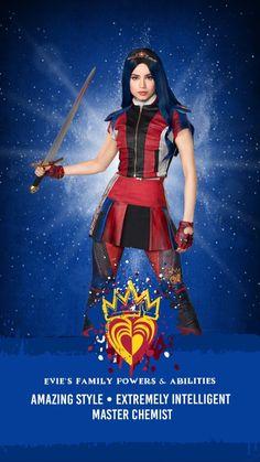 Sofia Carson as Evie Sofia Carson, The Descendants, Descendants Characters, Cameron Boyce, Bride Pictures, Decendants, Disney Channel Stars, Kid Movies, Celebrity Dads