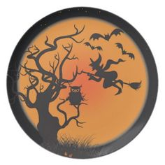 Shop Flying Witch Happy Halloween Sticker created by celebrateitholidays. Personalize it with photos & text or purchase as is! Halloween Letters, Halloween Plates, Halloween Dinner, Halloween Stickers, Halloween 2018, Diy Halloween Decorations, Halloween Cards, Happy Halloween, Halloween Festival