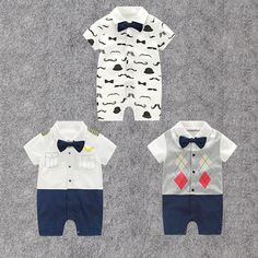Baby Boy Woven Body Shirt Chinos 3 Pcs Set Navy Blue Bow Tie 100/%Cottn 3-6-12-18