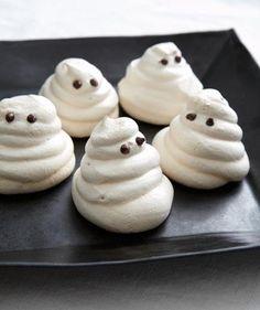 Meringue Ghost Cookies recipe