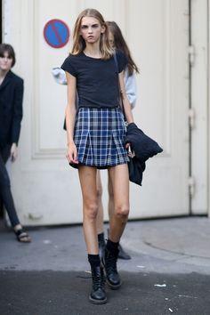 Paris Fashion Week Spring 2015 Models