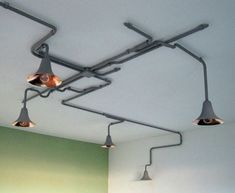 crafted lighting but could be simulated with pipes I'd bet...