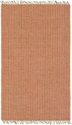 Surya KAI1000-46 Kailani 4' x 6' Rectangle Synthetic Hand Woven Natural Fibers A Pink Rugs Area Rugs
