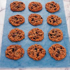 """""""By baking cookies yourself, you can control what goes into them,"""" says Blake. """"Anytime you bake a cookie with whole wheat flour or oats, it's going to be better for you."""" This recipe also replaces butter with light corn oil, reducing its saturated fat content. Iron-rich golden raisins contribute a natural sweetness alongside the full-fiber oats, requiring less added sugar."""
