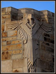 National Shrine of the Little Flower: Art Deco Angel Sculpture