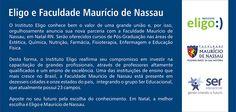 Eligo e Faculdade Maurício de Nassau