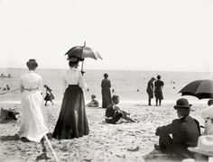Palm Beach, 1905    -original tag. -but is it  thee Palm Beach in Qld?