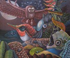"Saatchi Art Artist Paweł Batura; Painting, ""Sea lullaby"" #art"