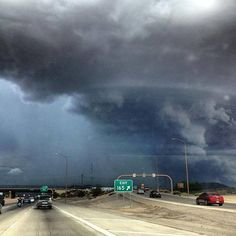 I-40 at Juan Tabo, Albq, July 11, 2013 - Trisha Choins, remember this?