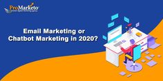 Know all about email marketing and chatbot marketing trends in which would be the better option for marketing your product and services. Promarketo also helps to do best email marketing and chatbot marketing for your business niche. Marketing Channel, Content Marketing Strategy, Best Email, Email Campaign, Communication, Messages, Trends, Business