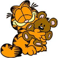 Coloriage : Garfield