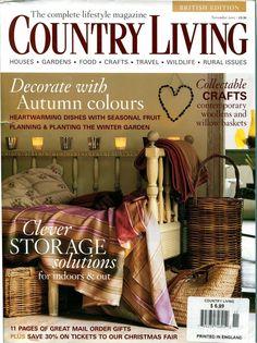 Incroyable COUNTRY LIVING UK British Edition Country Cottage English Garden Vintage  Shabby | Magazines On Ebay | Pinterest | Country Living Uk
