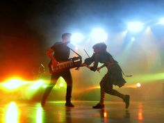 Lindsey Stirling and Gavi- Lindsey Stirling tour- Roundtable Rivalry