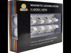 All4baby Magnetic Baby Proofing Cabinet Locks Video Product Review - YouTube