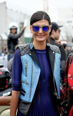 because I'm pretty sure I've never loved a vest as much as this one. does anyone know who it's by? Gio in Paris. #GiovannaBattaglia