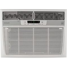 Frigidaire 15,100 BTU 115V Window-Mounted Median Air Conditioner with Temperature Sensing Remote Control