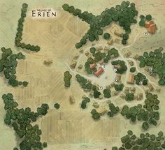 The Village of Erien by stephengarrett1019.deviantart.com on @deviantART