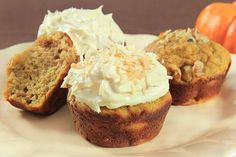 Gluten Free Coconut Flour Pumpkin Muffins recipe photo