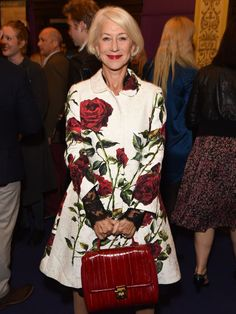 Helen Mirren attends the UK Premiere of 'Live From New York!' during the BFI London Film Festival on October 10, 2015 in London, England.   Alan Chapman, Getty Images