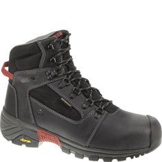 W10293 Wolverine Men's Mansard Safety Boots - Black
