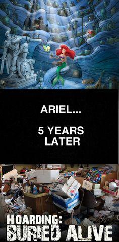 Ariel- 5 years later hahah TLC Hoarders
