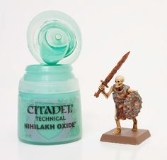 This is a review of the new technical paints from Citadel and a tutorial on how I painted the above Skeleton. More after the jump.    ...