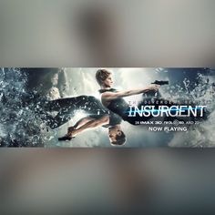 The Divergent Series: Insurgent is NOW PLAYING EVERY WHERE !!! Can't wait to see it Tomorrow !!'