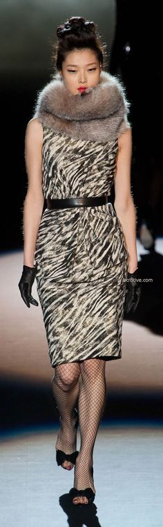 Badgley Mischka Fall Winter 2013 Mercedes-Benz Fashion Week Runway Fashion dca649de9