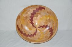 Handcrafted Wood Turned Segmented Decorative by wooddesignsbyjed, $239.00