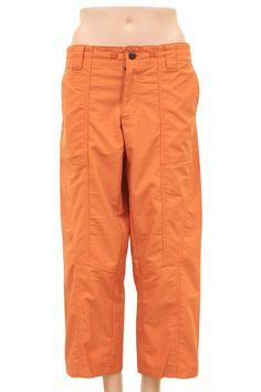 Patagonia Orange Sport Capri Pants Size 8