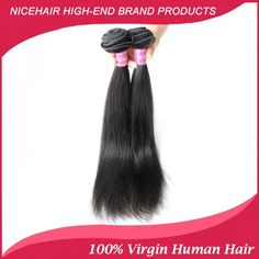 NiceHairSale Very Soft Buy Top Quality Straight Brazilian Human Hair Extensions 2Pcs/Lot Virgin Remy Weave Online #NiceHairSale #HumanWeave #VirginHair #RemyHair #HairBundles #CheapHair #BrazilianHair