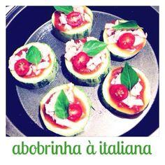 Cozinho, logo existo.: Abobrinha à italiana.