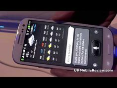 Galaxy SIII S-Voice Hands On with Mike Taylor demonstrating.