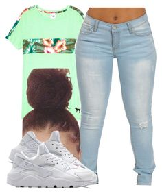 """simple"" by trvppunzell ❤ liked on Polyvore featuring NIKE"