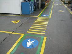 Factory Walkway Specialist markings lms