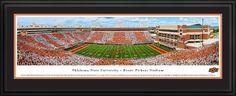 Oklahoma State Cowboys Football Panorama - Boone Pickens Stadium Panoramic Picture