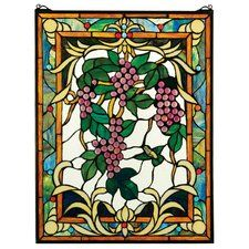 The Grape Vineyard Stained Glass Window