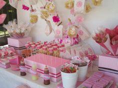 Fotos de mesas de dulces para baby shower - Imagui