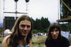 David Gilmour and Roger Waters in Japan, 1971