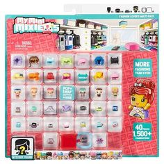 these My Mini MixieQ's mini dolls will keep children entertained for long periods of time. My Mini Mixieq's Fashion Lover's Multipack Unicorn Birthday Parties, Girl Birthday, Doll Toys, Barbie Dolls, My Mini Mixieqs, Minis, Makeup Kit For Kids, Cool Toys For Girls, Cute Toys