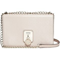 GUESS Doheny Metallic Envelope Cross-Body (€49) ❤ liked on Polyvore ... 9d36a50c852f4