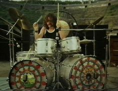 Nick Mason (Pink Floyd) at Pompeii