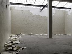 White Walls, Andy Goldsworthy, Galerie Lelong, New York