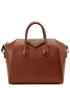 "Some of you have to get in on this: Givenchy ""Antigona"" Medium Leather Satchel"