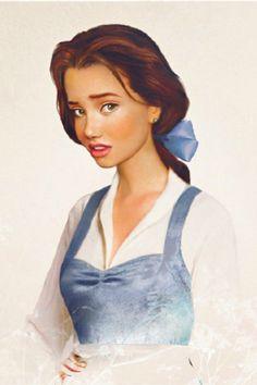 Disney Princesses Real Women Jirka Vaatainen