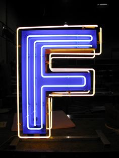 Neon letter signage for Fourth Street Live! Design by Selbert Perkins. Fabrication by DCL. #letter #neon #signage