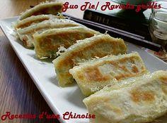 Raviolis grillés (Kuo Tieh ou Guo Tie) 锅贴 guōtiē