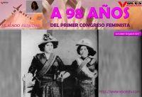 A 98 AÑOS DEL PRIMER CONGRESO FEMINISTA