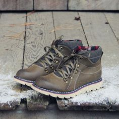 The Logger Boots in Sage, Rugged Fall & Winter Boots from Spool No.72   Spool No.72. / I actually like these! :)